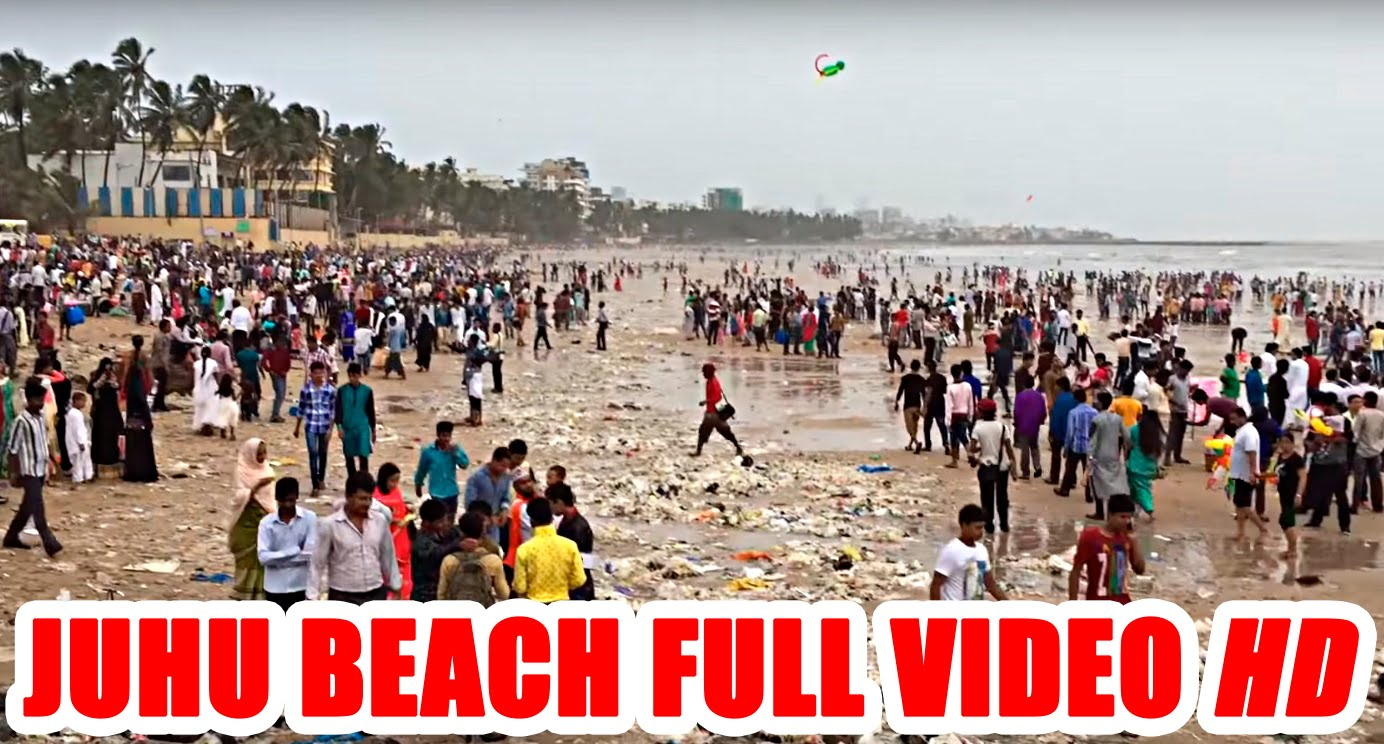 Juhu Beach in Mumbai | Juhu Beach | Juhu On Eid | Juhu beach dance | Tourist Attraction | Mumbai